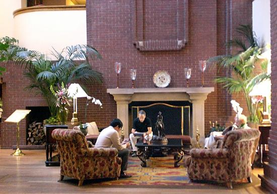 Stanford Park Hotel: Hotel Lobby