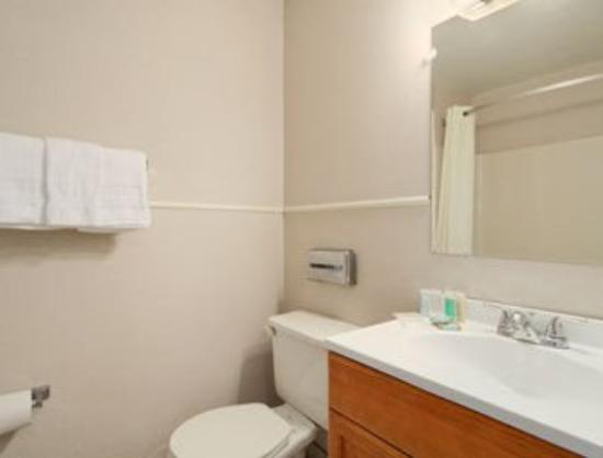 Travelodge Mount Pocono: Bathroom
