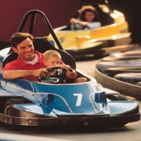 Smoky Meadows Lodge: Go Carts
