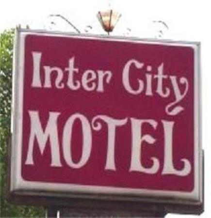 Inter City Motel: Sign