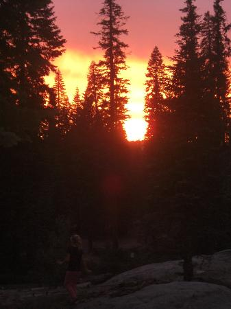 Dorst Campground: Awesome Sunset