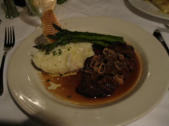 Beef Meal Picture Of The Red Pheasant Dennis Tripadvisor