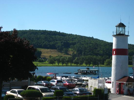 Lake Front Hotel: View from our room