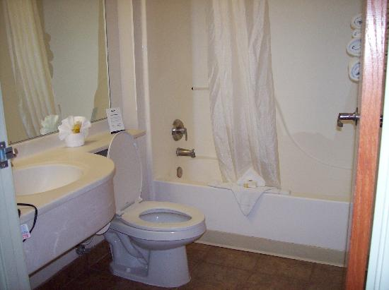 Microtel Inn &amp; Suites by Wyndham Salt Lake City Airport: bathroom