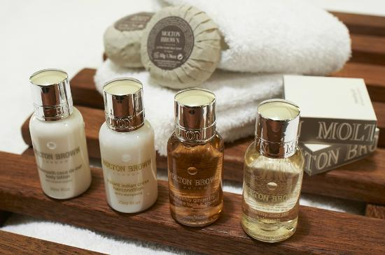 The Dairy Private Luxury Hotel: Molton Brown