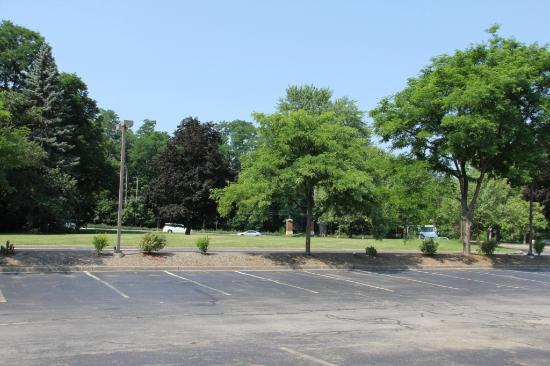 Hilton Garden Inn Rochester/Pittsford: Parking Lot