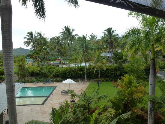 Paradise Palms Resort & Country Club: View from balcony