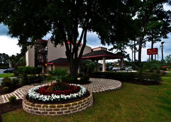Econo Lodge: Courtyard