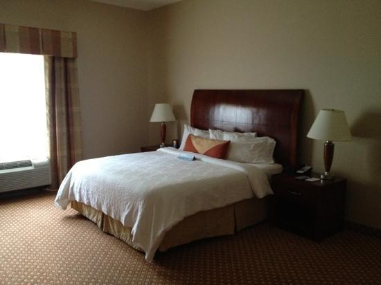 Hilton Garden Inn Hamilton: King bed