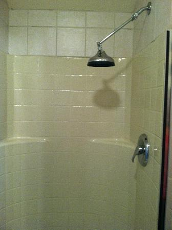 Country Cottage of Langley: Rain shower head in Captain's Cove