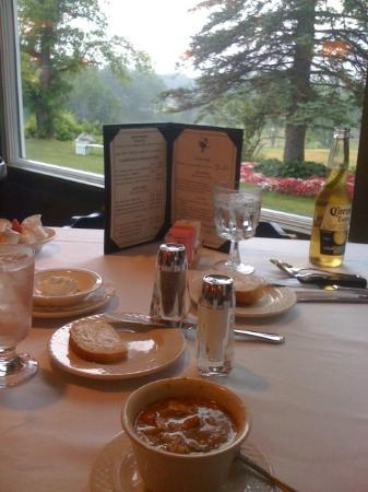 Town & Country Motor Inn Resort: View from dinner table