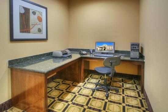 Holiday Inn Express Hotel & Suites Pecos: Business Center
