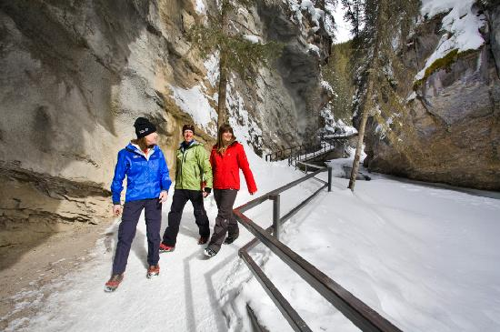 Lake Louise, Kanada: Johnston Canyon Ice Walk