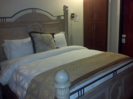 Wyndham Garden Hotel Baronne Plaza: Suite with King sized bed