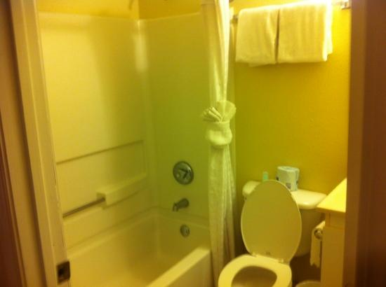 Suburban Extended Stay Hilton Head: no conditioner or lotion