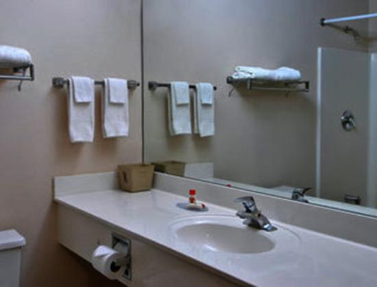 Super 8 Piedmont/Greenville Area: Bathroom