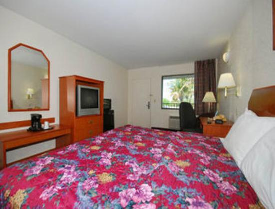 Super 8 North Palm Beach: One Bed Guest Room