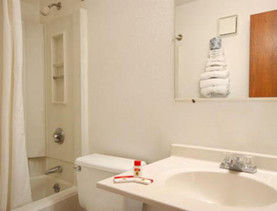 Super 8 Kenosha / Pleasant Prairie: Bathroom
