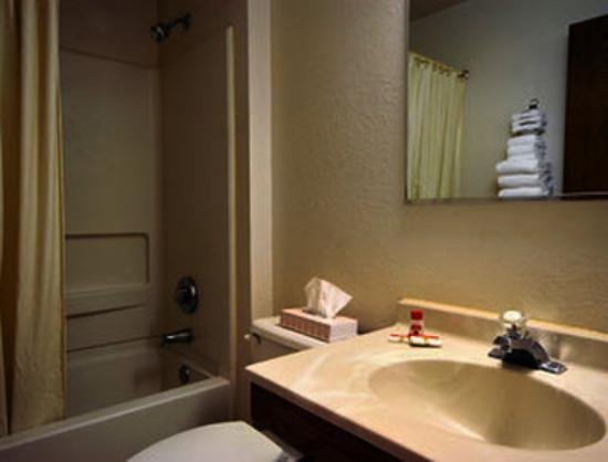 Super 8 Delmont: Bathroom