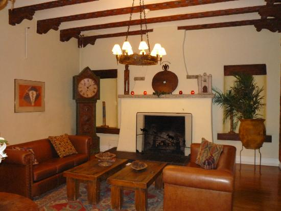 Bishop's Lodge Resort & Spa: In the main lodge.