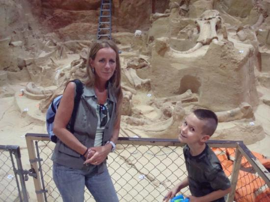 Charlie And I At The Dig Picture Of Mammoth Site Of Hot