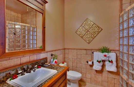 Coco Beach Resort: Seaview Bathroom