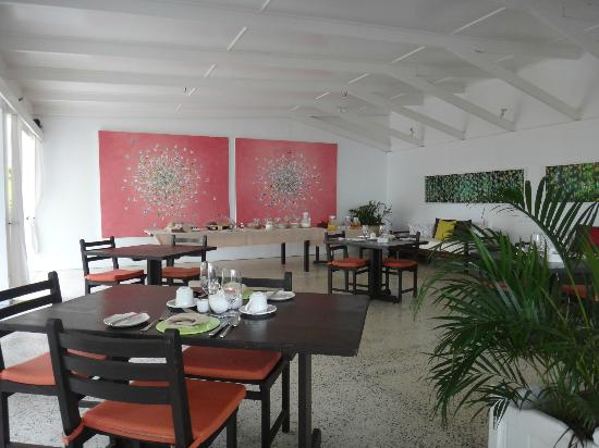 Montpelier Plantation & Beach: Breakfast area