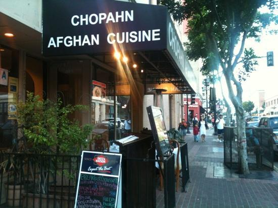 Chopahn authentic afghan cuisine dress code for Afghan cuisine restaurant