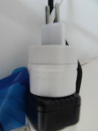 Clarion Collection Hotel Lavaux: Electric adapter required