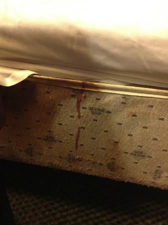 Super 8 Winchester : Blood stained mattress