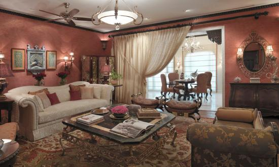 Taj Rambagh Palace: Living Area