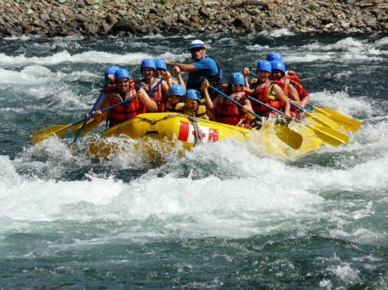 Mountain Spirit Resort: Rafting with Kimberley Rafting
