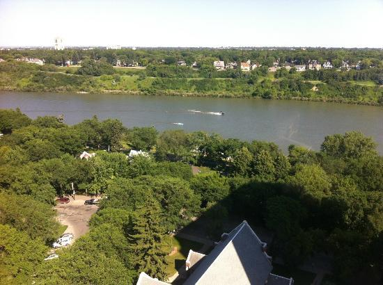Radisson Hotel Saskatoon: view from the top floor