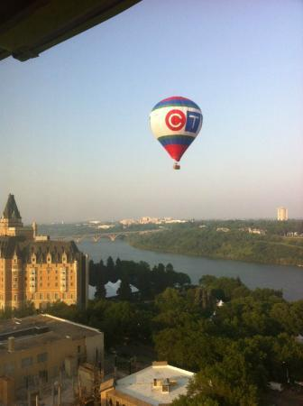 Radisson Hotel Saskatoon: View from the 19th floor