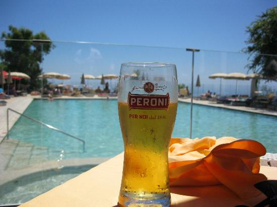Piano di Sorrento, Italy: From the pool bar