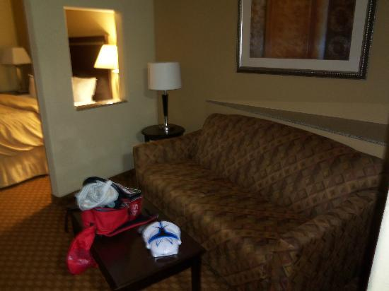 Comfort Suites Kingsland: Sofa Bed