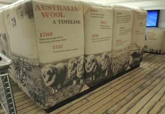 Cutty Sark: Bales of Wool from Australia