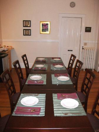 Finger Lakes Bed & Breakfast: Dining/Breakfast room