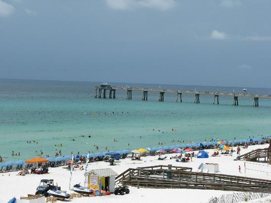 View from our balcony picture of fort walton beach for Fort walton beach fishing