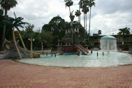 Pool Kid Area Picture Of Clarion Hotel Conference Center Tampa Tripadvisor