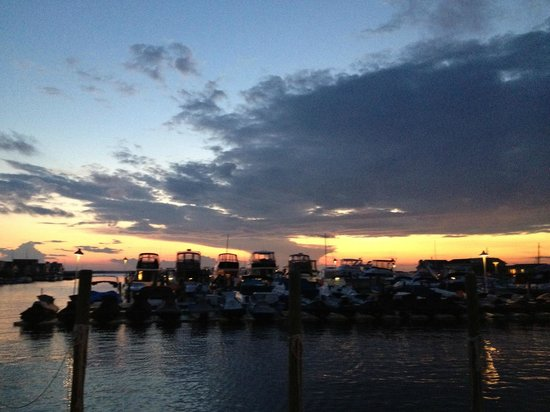Cte du New Jersey, NJ : Terrific Views of Sunset