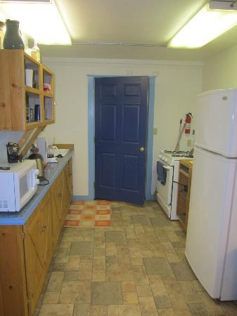 Northern Guest House kitchen area