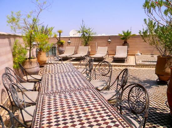 Riad et Dar Maison Do: Dar Terrace