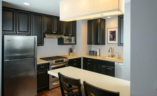 Two Thirty-Five: Luxury Suites: All suites include a full, gourmet kitchen.