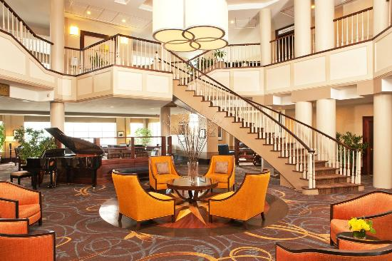 Sheraton Harborside Hotel Portsmouth: Lobby