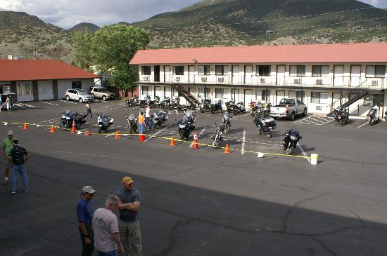 ‪‪Gateway Inn & Suites Salida‬: BMW Motorcycle Event