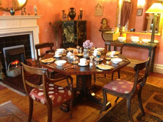 Lympley Lodge: Beautiful Dining Room