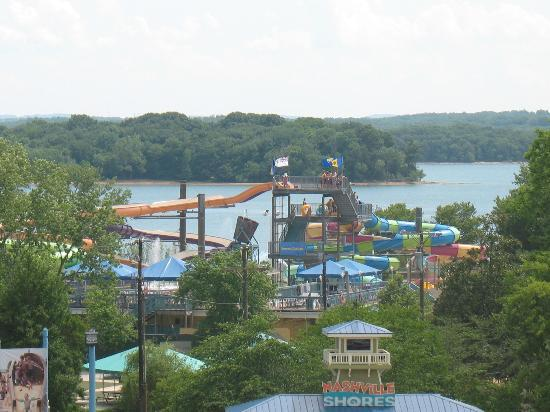 Nashville Shores Waterpark With Percy Priest Lake Picture Of Nashville Shores Hermitage