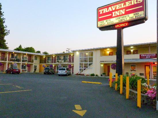 Travelers Inn Eugene: Exterior view