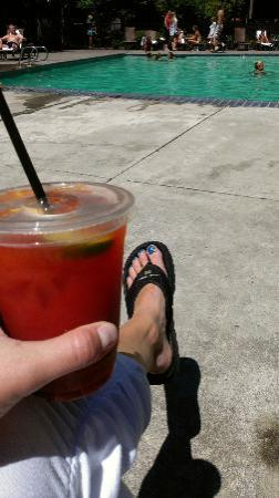 The Resort at The Mountain: Bloody Mary by the Pool!
